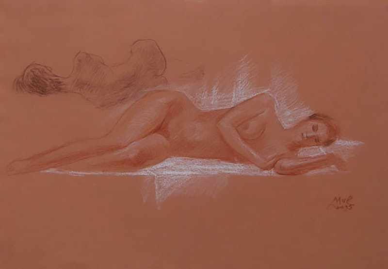 Resting Nude Image 1