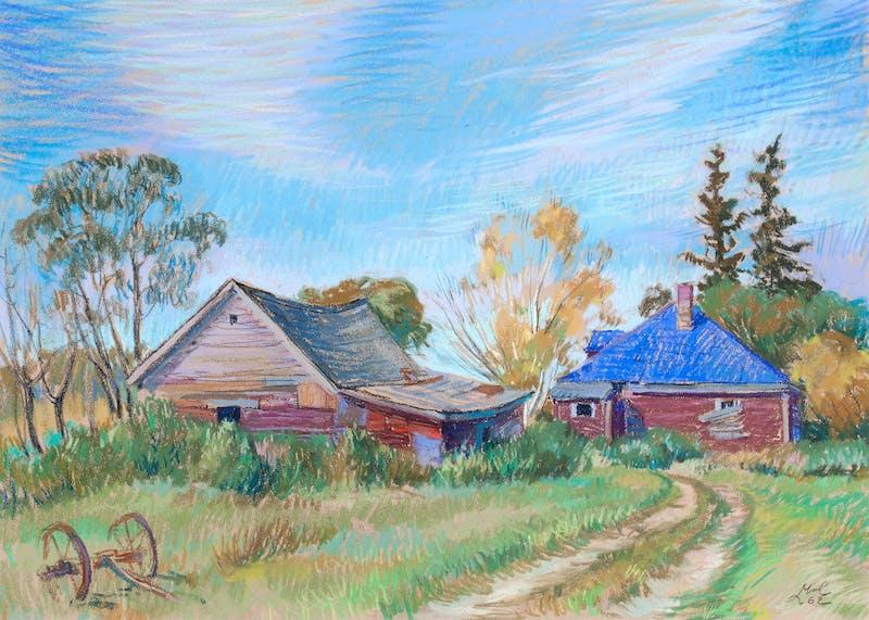 Old Farm House Image 1