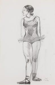Model in Ballet Costume