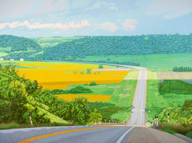 Mile Hill- Saskatchewan River Valley