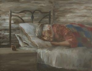 Grandmother Sleeping