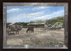 Farmyard at Stony Reserve