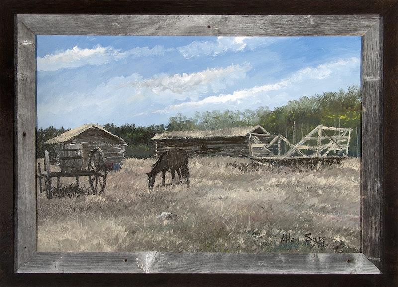 Farmyard at Stony Reserve Image 1
