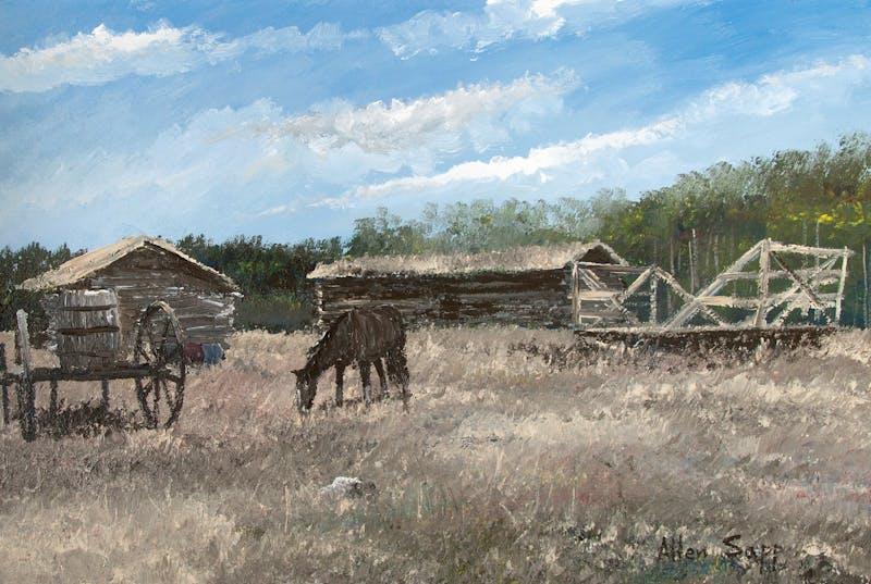 Farmyard at Stony Reserve Image 2