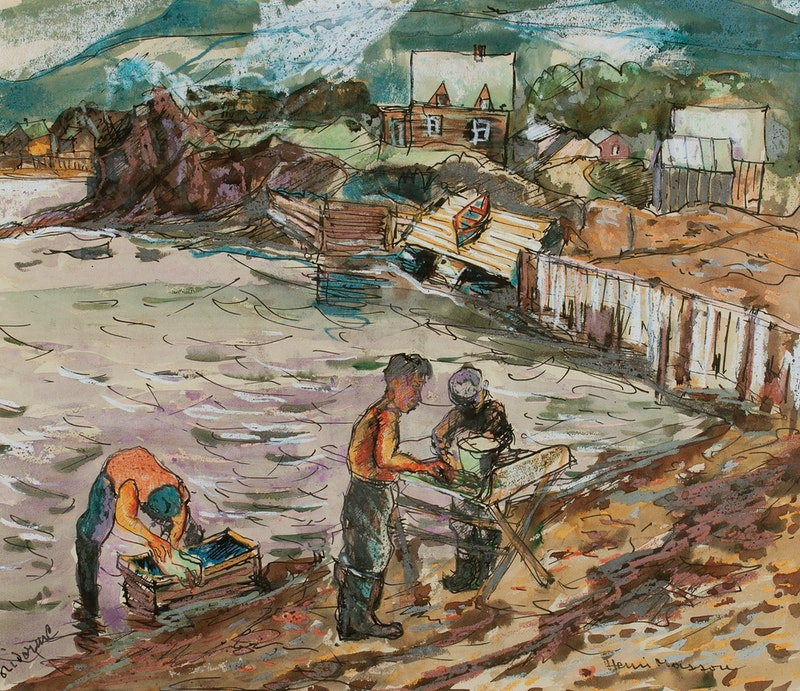 Fisherman, Clare Corne Image 2