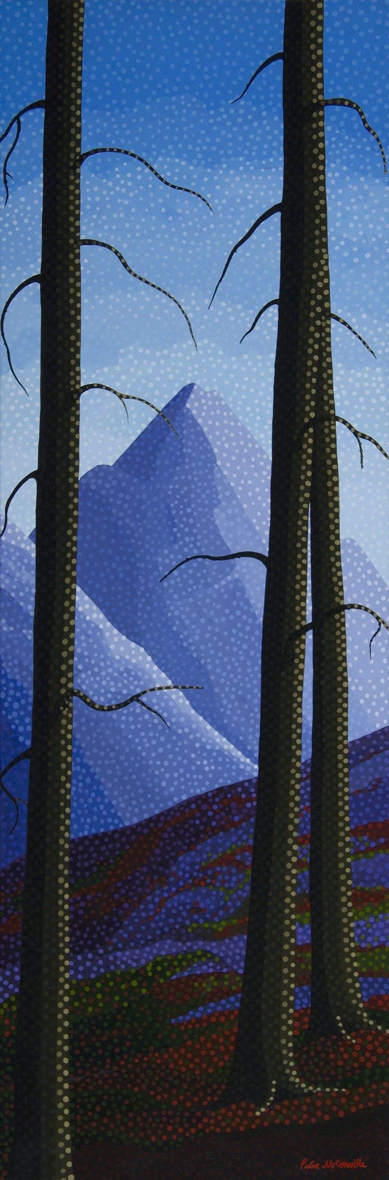 Mountain Trees Image 1