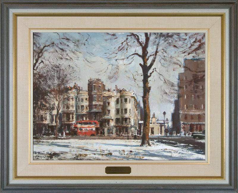 Park Lane, Early February Morning Image 1