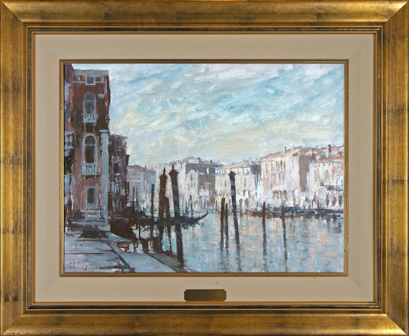 Mooring Posts, Grand Canal, Venice Image 2