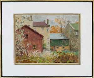 Back Garden, Morristown, ON