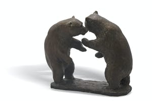 Standing Grizzly Bears 2/20