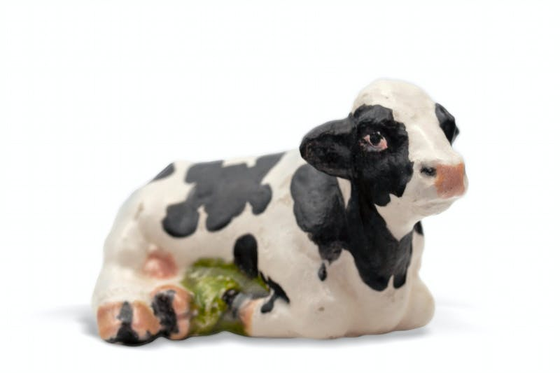 Reclining Cow