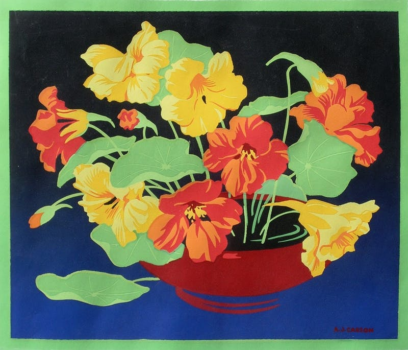 Untitled (Nasturtiums)