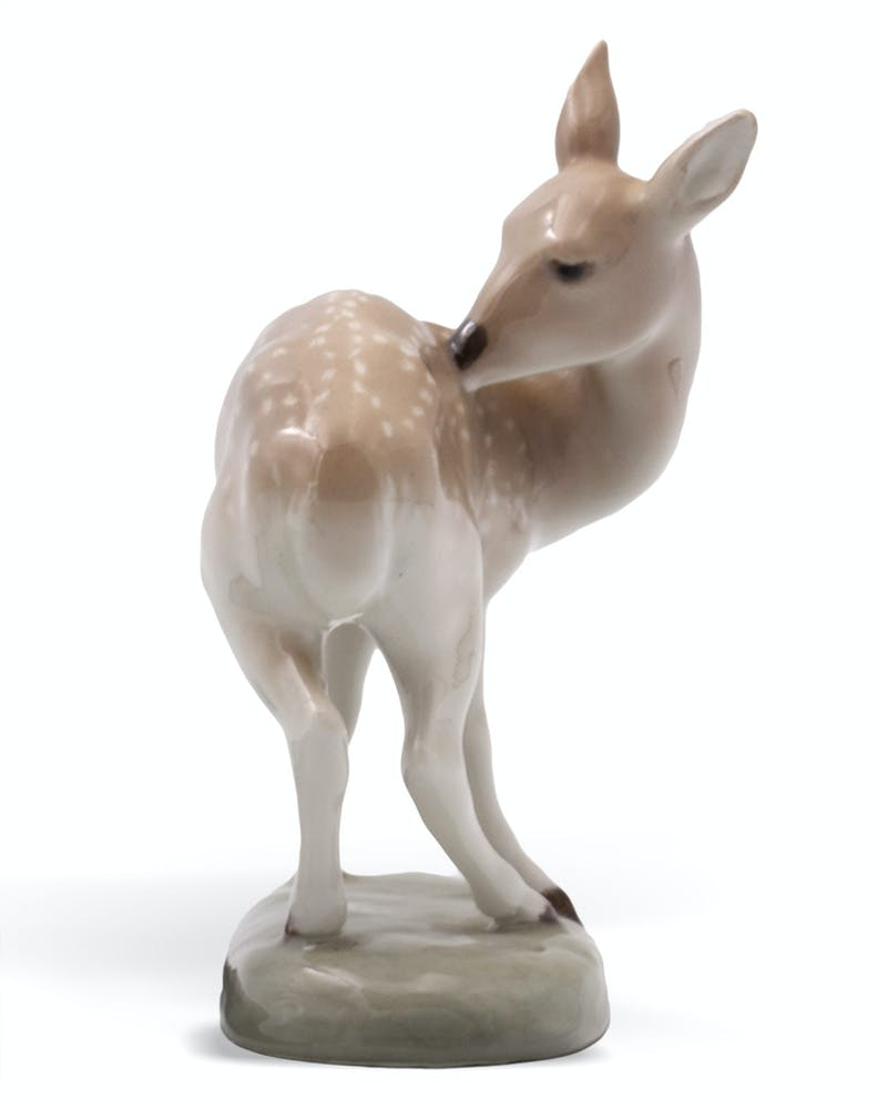 FAWN by Leo Mol, 1958 Ceramic - (7.5x3.5x6 in)