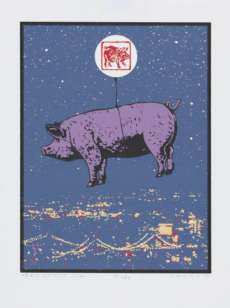 Year of the Pig 30/80