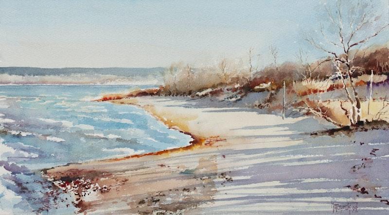 Fall at Victoria Beach Image 1