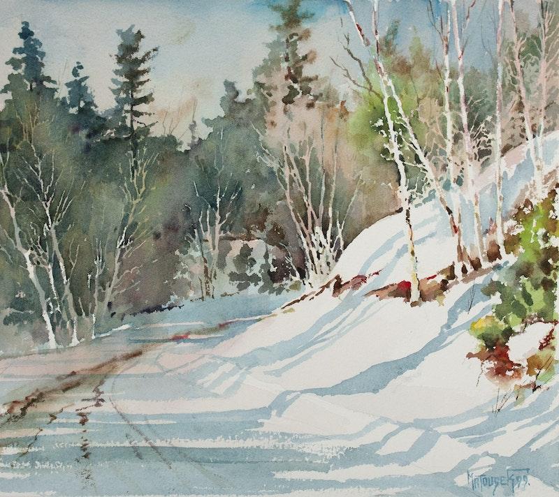 Winter Road Whiteshell Image 1