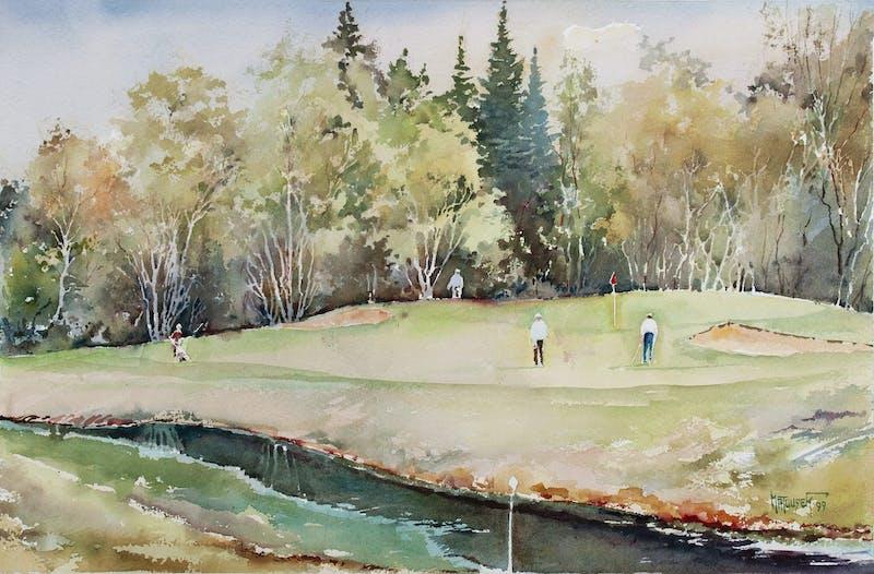 Falcon Lake, 8th Hole