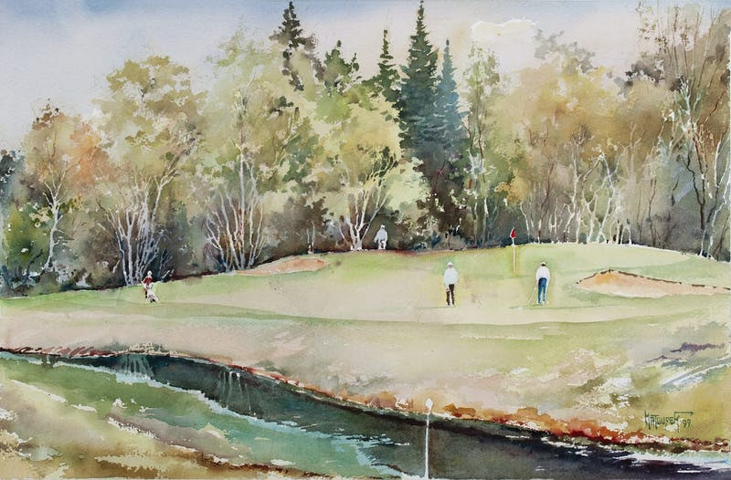 Falcon Lake, 8th Hole Image 1