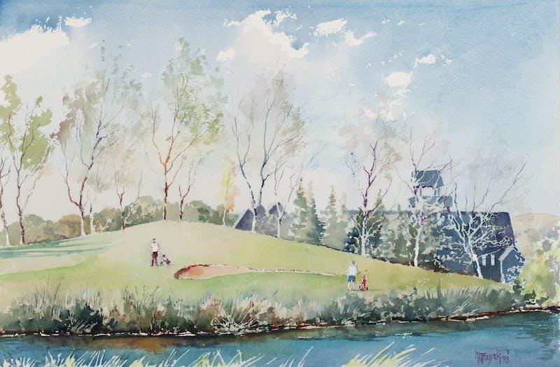 Kilcona Golf Course, 9th Hole Image 1