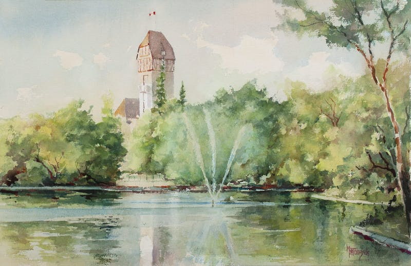 Duck Pond, Assiniboine Park