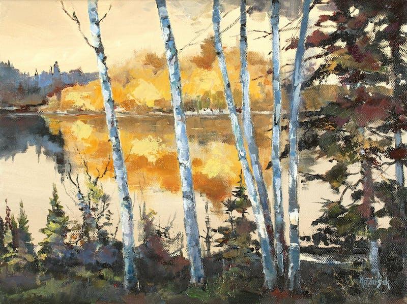 Birch Trees - Shoal Lake Image 1