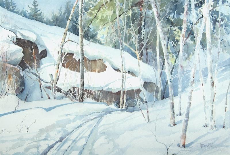 Winter Trail Image 1