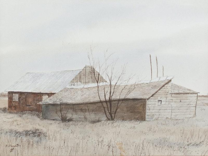 Barn on Schultz Property 10/78 Image 1