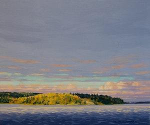 Channel on Western Side of Painted Rock Island