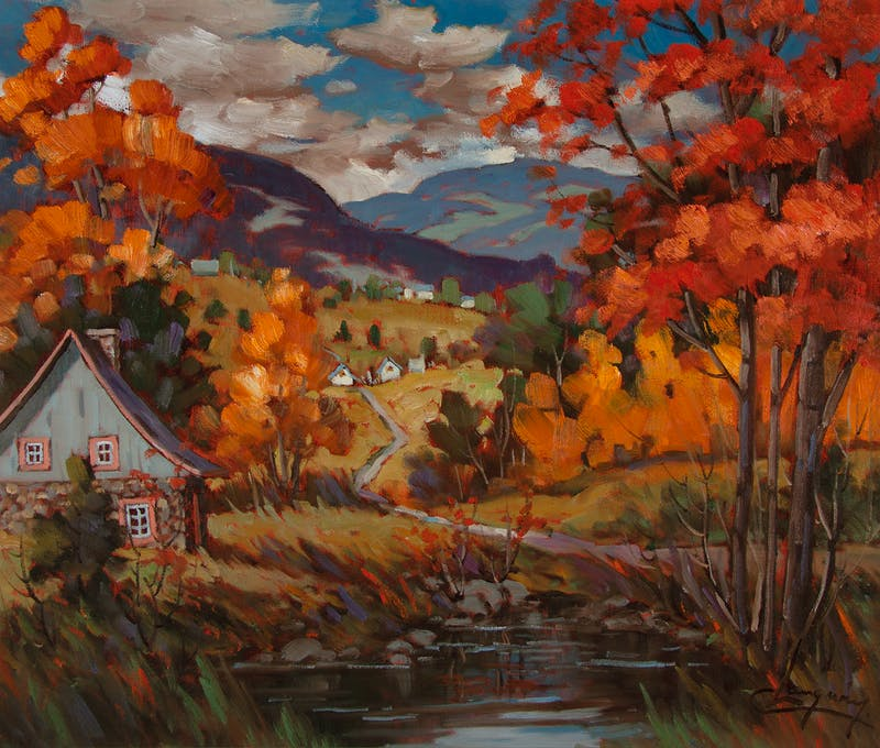 Fall in the Laurentians Thumbnail 2