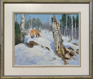 Vagrant Breeze, Red Fox and Snowshoe Hare