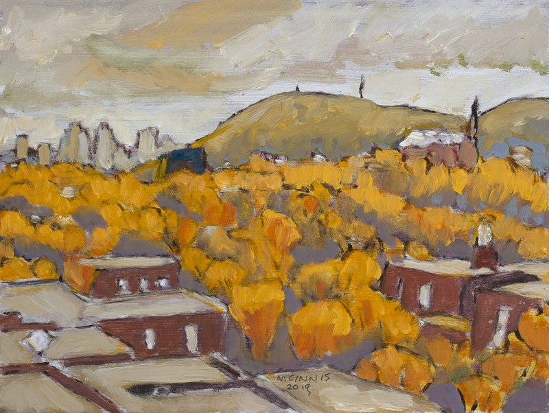 Roof Tops - Yellow Image 1