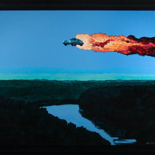 Jump 1/25 by Sean William Randall, 2020 Archival Pigment Print - (30x40 in)