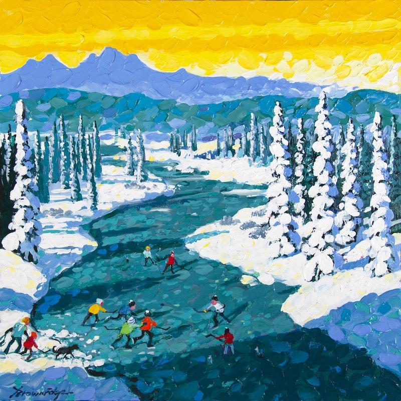 The Joy of Open Ice– Kanaskis