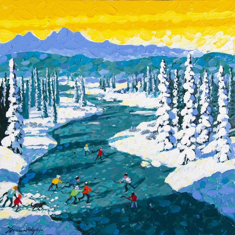 The Joy of Open Ice– Kanaskis Image 1