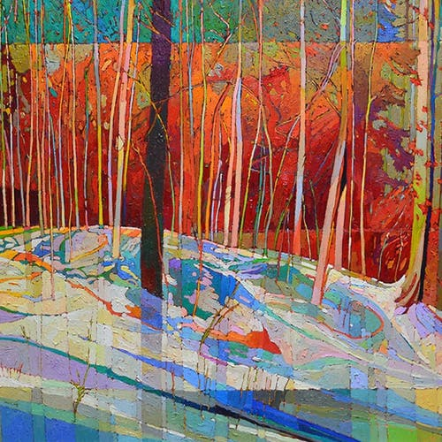 #2176 by Bob Kebic, 2020 Oil on Canvas - (30x60 in)