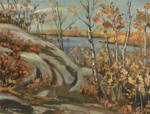 October, Lac du Bonnet
