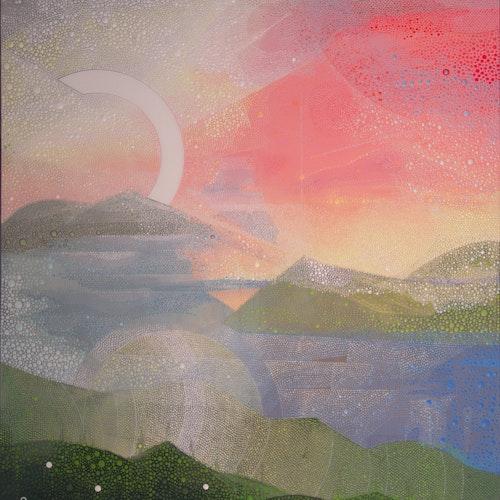 Dear Tiare Apetahi by Ewa Tarsia, 2020 Acrylic on Canvas - (72x48 in)