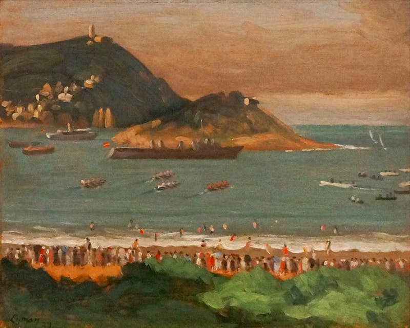 Regatta at San Sebastian