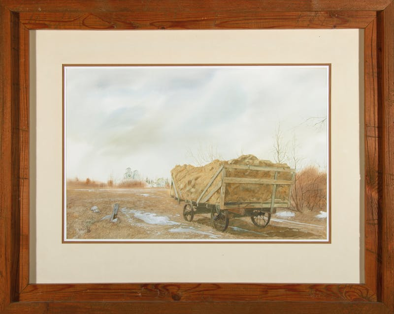 Hay Bales with Grain Growers Image 2