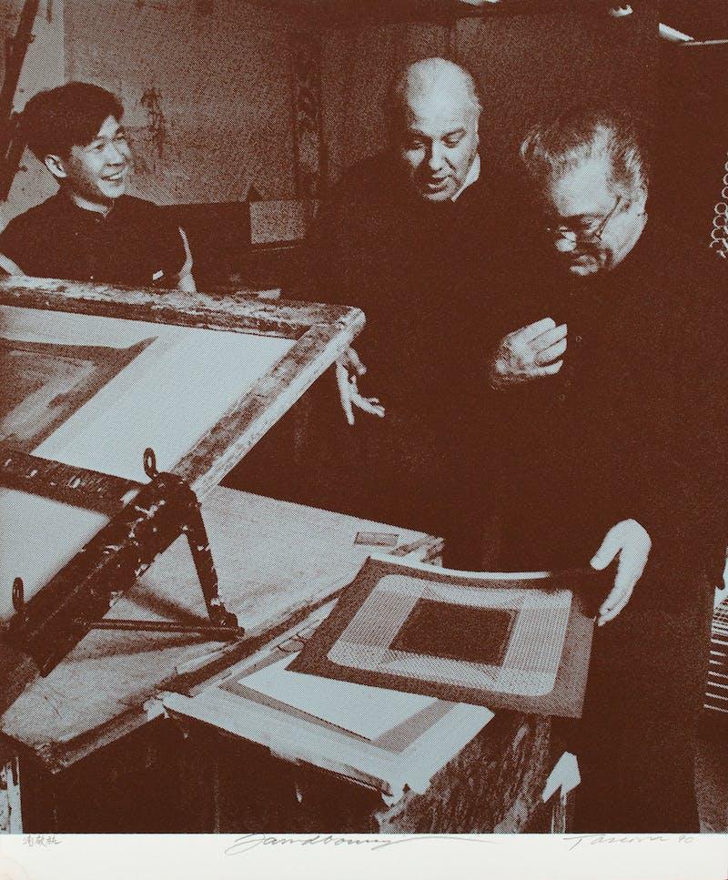 Take Five + One,  folio of 5 serigraphs Image 8