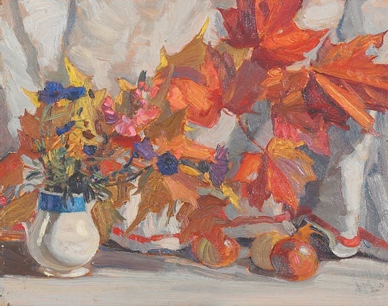 Leaves and Flowers Image 1
