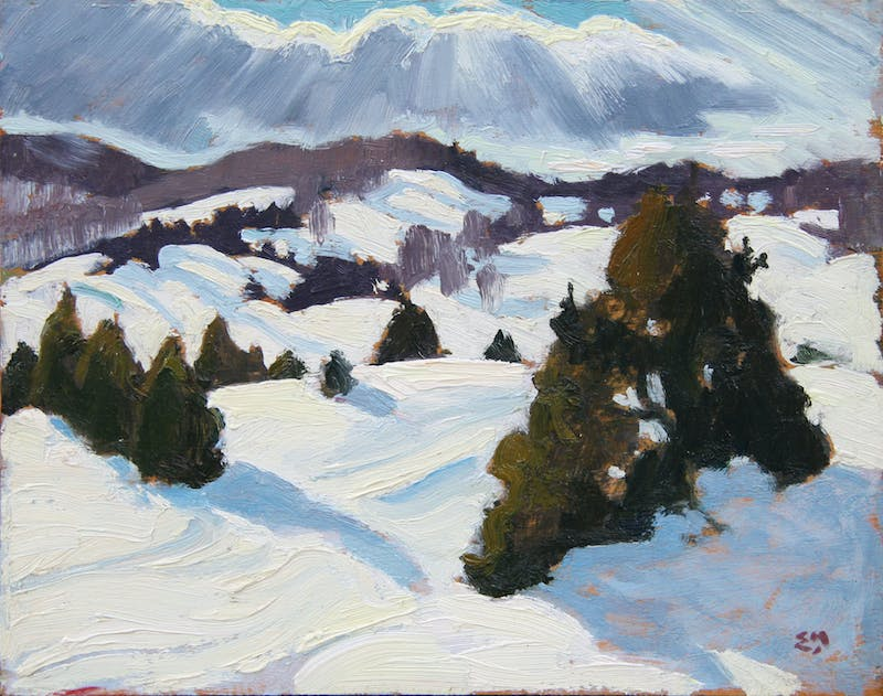 Snow Clouds, Morin Heights