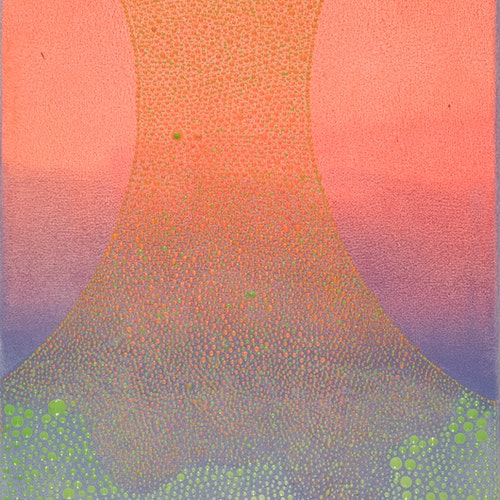 Superfood Evolution 1 by Ewa Tarsia, 2020 Acrylic on Canvas - (60x12 in)