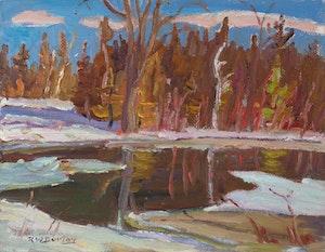 Spring Creek in Lanark County, ON