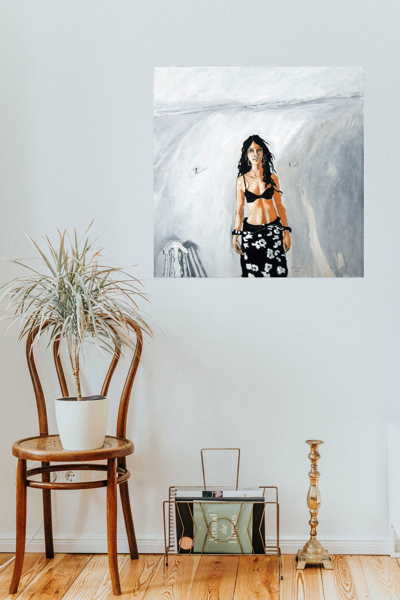 Marla in the Old Studio Image 3