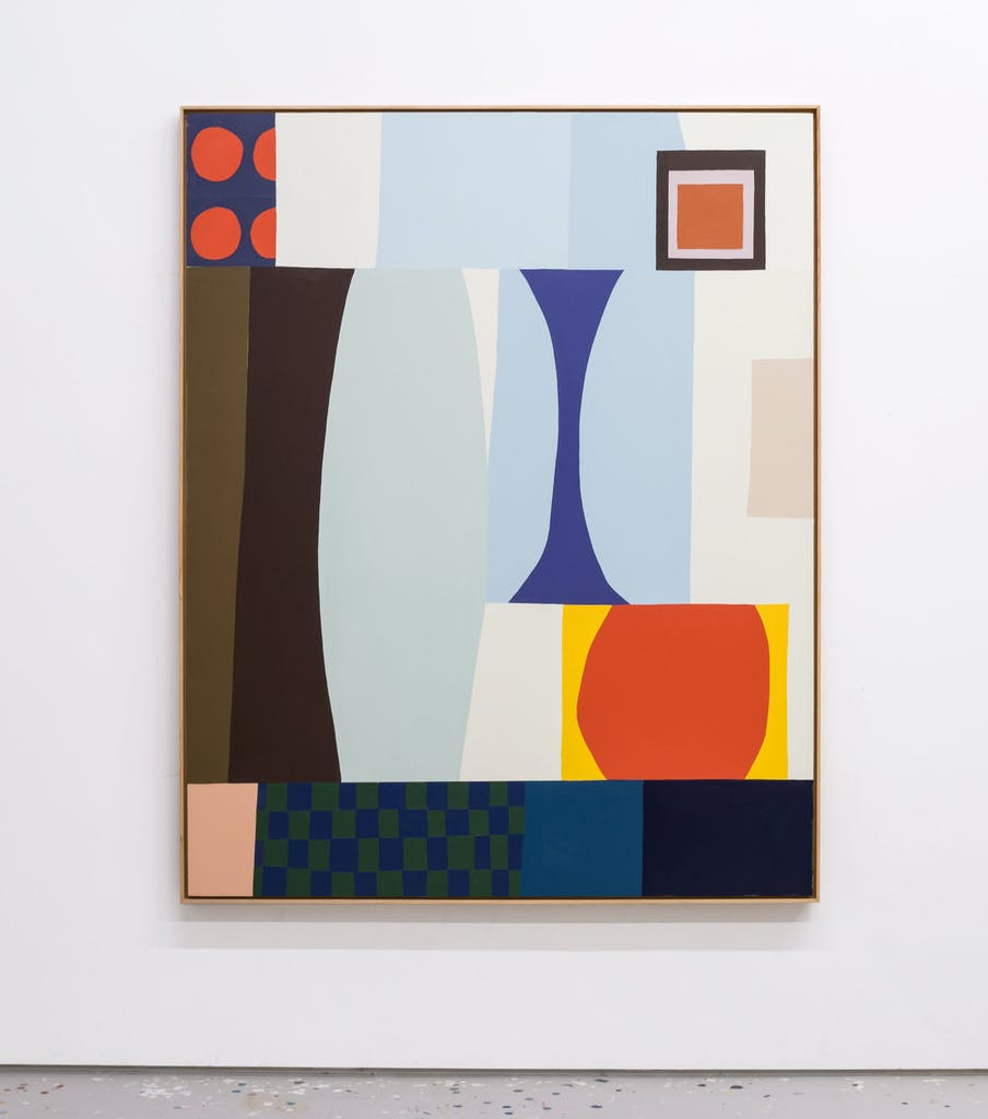 An Ideal Living Room Arrangement by Scott Sueme, 2021 Acrylic on Panel - (60x48 in)