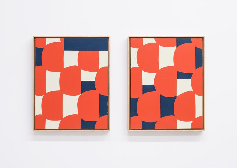 Tile Samples (Diptych)