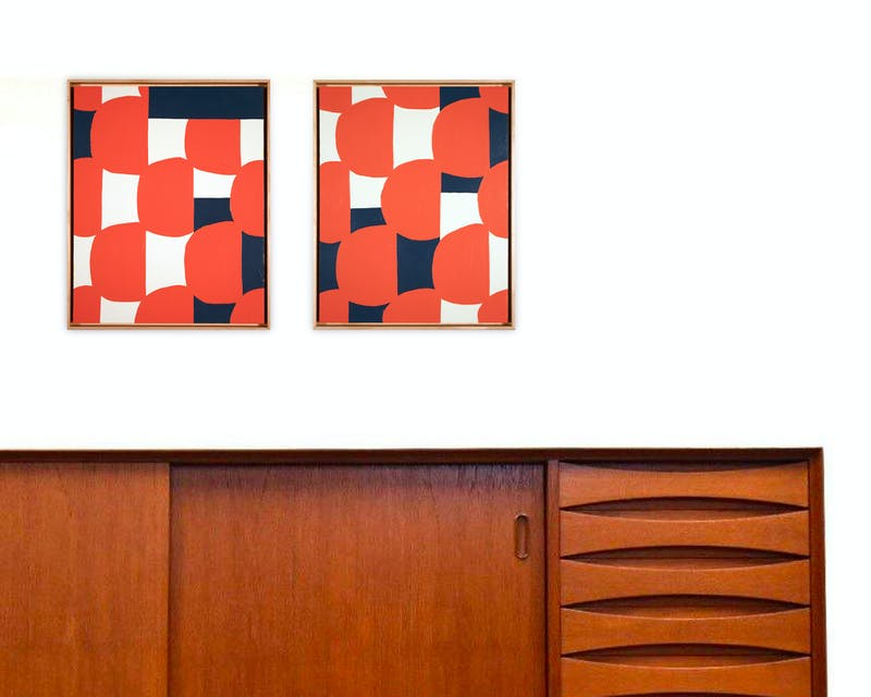 Tile Samples (Diptych) Image 8