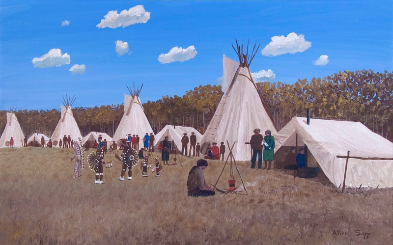 At the Pow-Wow Image 1