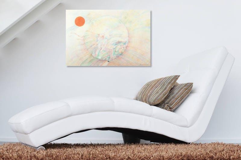 Orange Moon Image 2